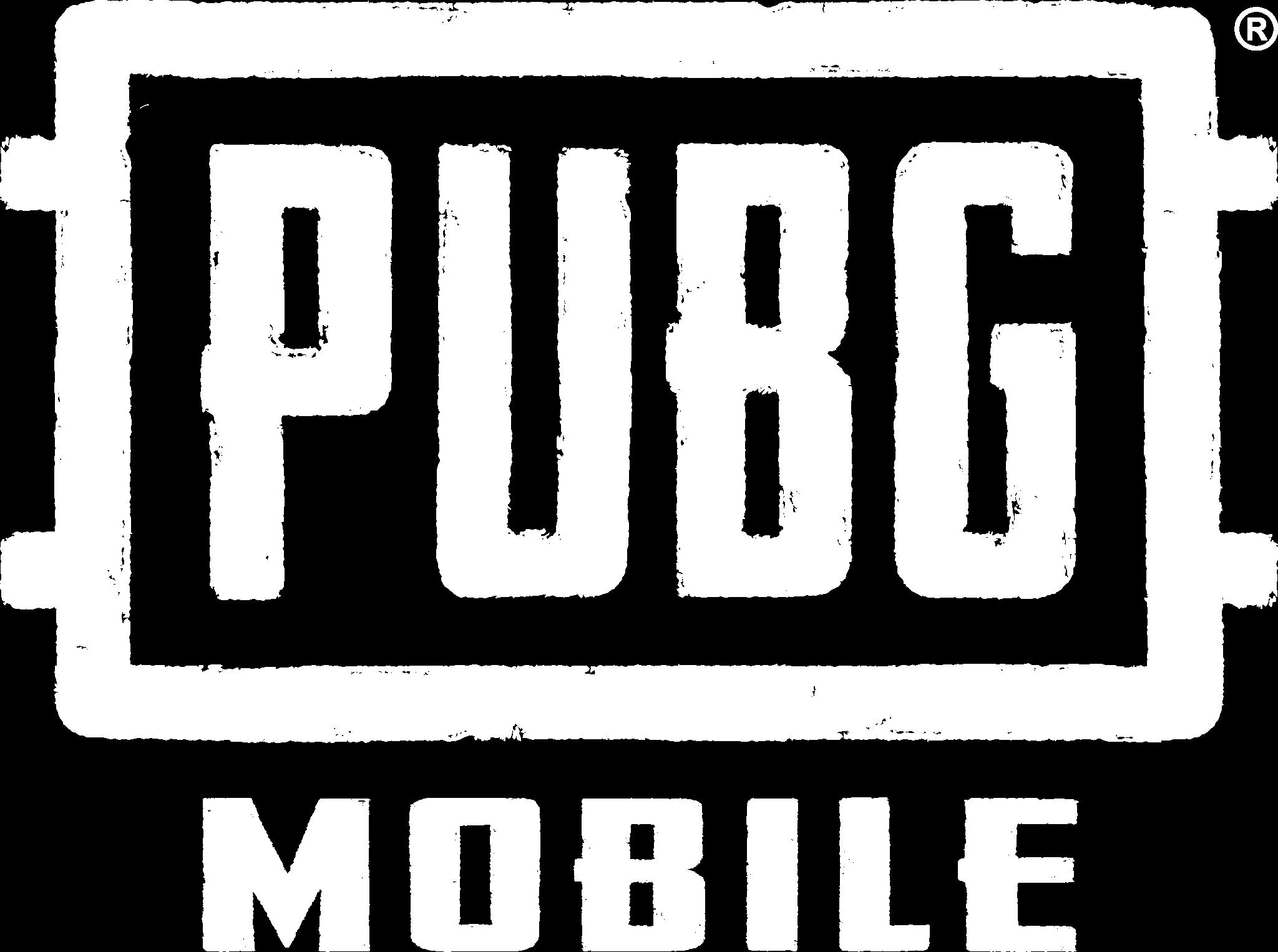 Logo pubg white
